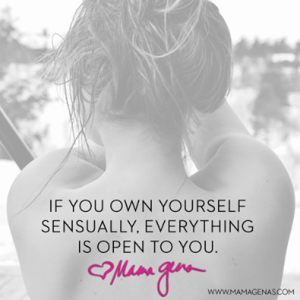 own yourself sensually